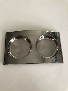 Molton Brown Stainless Steel Elemental Arc Holder Caddy Soap Lotion Set