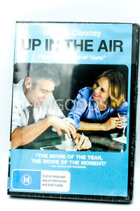 UP IN THE AIR : GEORGE CLOONEY - Rare DVD Aus Stock New Region 4