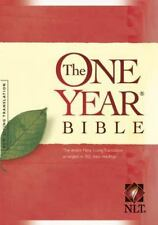 The One Year Bible NLT (2004, Hardcover, Unabridged)