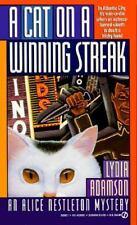 A Cat on a Winning Streak: An Alice Nestleton Mystery by Adamson, Lydia