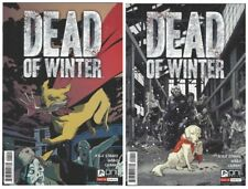 Dead of Winter #1 Variant Cover Set Oni Press 2017 2 Comics Board Game Horror NM