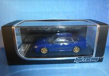 SUBARU LEGACY RS GROUP A 1992 PLAIN COLOR BLUE HPI RACING 8191 1/43 BLAU BLEU