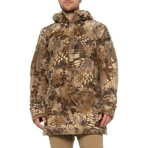 KRYPTEK Anorak Zip Neck HUNTING Highlander CAMO Hooded JACKET Mens Sz MEDIUM NEW