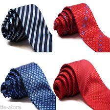 MENS NECK TIE CLASSIC NECKTIE 9cms TIES NECKTIE WEDDING BUSINESS PARTY FORMAL