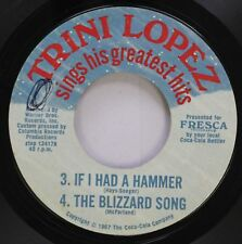 Pop 45 Fresca - If I Had A Hammer / A-Me-Ri-Ca On Trini Lopez