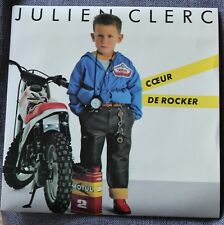 Julien Clerc, coeur de rocker / quelle heure est ile marquise, SP - 45 tours