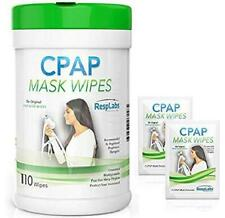 CPAP Mask Wipes - For Cleansing Of Your CPAP Mask, 110 Pack + 2 Travel Wipes