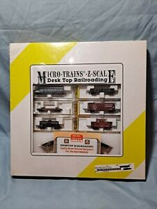 VINTAGE MICRO-TRAINS LINE Z-SCALE DESK TOP RAILROADING SET NYC N.I.B Sealed !