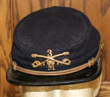 Indian War 3rd Cavalry M Company Model 1875 Chasseur Style Pattern Kepi Cap