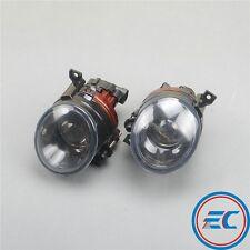 Pair Front Convex lens Fog Lamp Light 9006 For VW Jetta Golf Rabbit 5 Scirocco