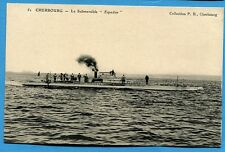 CPA: Cherbourg - Le Submersible Espadon