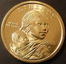 2000 P Native American Sacagawea Dollar Coin Uncirculated