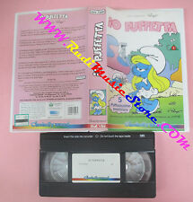 VHS film IO PUFFETTA 1 1994 animazione CINEHOLLYWOOD CHV 7509 puffi(F105) no dvd