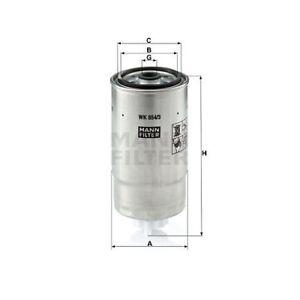 1 Filtre à carburant MANN-FILTER WK 854/3 convient à FIAT