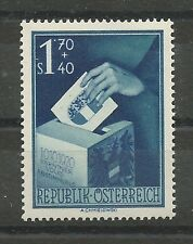 Österreich 1950 Kärntner Volksabstimmung 1,70 Schilling + 40 Groschen **