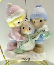 Precious Moments Ornament Our First Xmas Together 2013 131004 Bx FreeusaShp