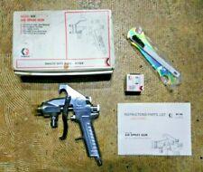 Graco Air Spray Gun Model 800 Cib w/Air Cap #106-805, Manual and Accessories