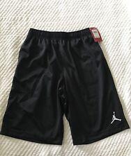NWT Boy's Youth Jordan Nike Black Mesh Basketball Shorts L Large 959922 $35