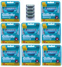 100 Gillette Mach 3 Rasierklingen / 8x 12er in OVP + 4 im Blister = 100 Stück