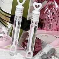 24x Love Heart Wand Tube Wedding Favour Bubbles Soap Bottle Party Decor Hot Sale