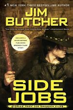 Jim Butcher - Side Jobs -Stories From the Dresden Files - HC w/DJ 1st PRINT 2010