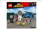 Lego Instructions only for Set 76051 Super Hero Airport Battle  Bin 3