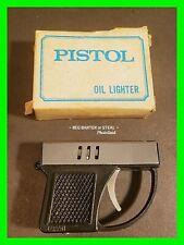 Vintage Mini Pistol Gun Lighter HTF w/ Orginal Box Working & Excellent Condition