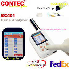 bluetooth URINE ANALYZER BC401 2.4''LCD MicroUSB Monitor 11 Parameters Test