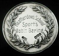 Cased Silver Heatherdown School Medal, Birmingham 1922