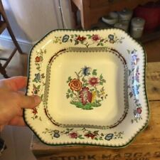 Copeland Spode Chinese Rose – Large Square Serving Bowl – Great! –