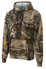 Russell Outdoors Realtree AP Camo Sport Hooded Sweatshirt Jumper NEW Size Small
