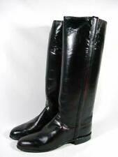 Justin Boots Knee High Riding Boot Women size 5.5 C Merlot Leather EUC