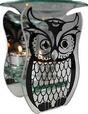 OWL OIL WARMER TEA LIGHT CERAMIC BURNER MELT RELAX PASTELS HOLDER TART CANDLE