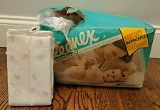 Vtg 1978 Kleenex Brand Super Dry Diaper Sz Nb One Alphabet Disposable Change Me
