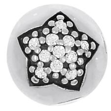 Authentic Pandora Sterling Silver Pave Star CZ Clip Charm