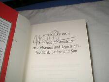 MICHAEL CHABON - Manhood For Amateurs SIGNED 1/1 Hb - 2010 - LITERARY MEMOIR