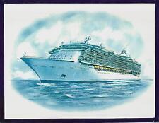 Original Art Work ...ms INDEPENDENCE of the SEAS ...cruise ship... RCI