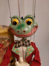 Pelham Puppets   frog  boxed  hand made in England
