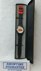 McDonald's 1990's Staff Watch With Brand New Battery Case & Guarantee Leaflet