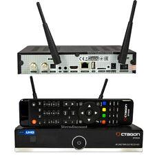 Octagon SF8008 4K UHD Twin Sat Receiver 2x DVB-S2X Multistream WLAN H.265 USB 3.