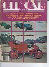 Old Car Illustrated May 1977, Vintages at Laguna Seca, Gilmore Goodies, 39 Sty +
