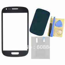 For Samsung Galaxy S3 III Mini i8190 Touch Outer Glass Lens+Adhesive+Film+Tools