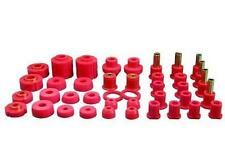 PROTHANE Total Suspension Bushing Kit Ford F-150 4WD 80-96 Red