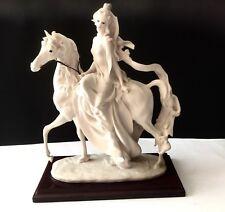 "Giuseppe Armani Figurine ""PRINCESS ON HORSE"""