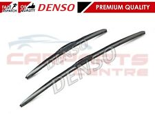 FOR TOYOTA COROLLA VERSO DENSO HYBRID WIPER LEFT RIGHT FLAT BLADE SET 2004-2009