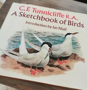 A Sketchbook of Birds C.F Tunnicliffe Birdwatching Ornithology