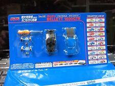 DYDO - 1/64 Scale Mini Car KIT - no.05 - ISUZU BELLETT 1600GTR blue Mini Car C7