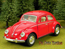 DieCast 1967 Classic VW Volks Wagon Beetle G Scale 1:32 by Kinsmart