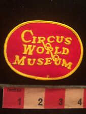 Baraboo Wisconsin CIRCUS WORLD MUSEUM Patch 79Y3