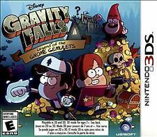 Gravity Falls: Legend of the Gnome Gemulets (Nintendo 3DS, 2015) Game With Case
